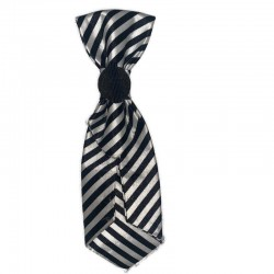 Black and White Toddler Neck Tie