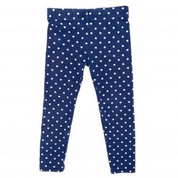 Girls Blue and White Leggings Sz 2T