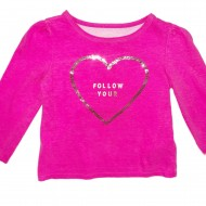 Pink Long Sleeve Shirt 2T