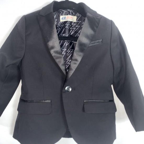 Toddler Black Suit Jacket Blazer