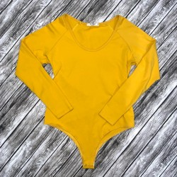 Sunro Bodysuit In Yellow or Gold Size Small