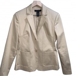 Women's Tan Long Sleeve Blazer Size Small